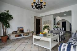 地中海風格客廳裝修樣板房