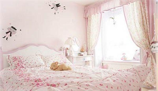 温馨粉色打扮可爱公主房