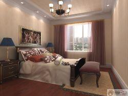 主臥室雙人床設計圖