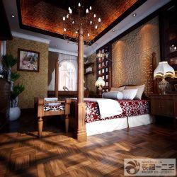 新房臥室床頭背景墻裝修案例
