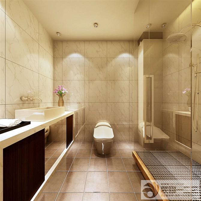 经典卫生间洗手池设计图片