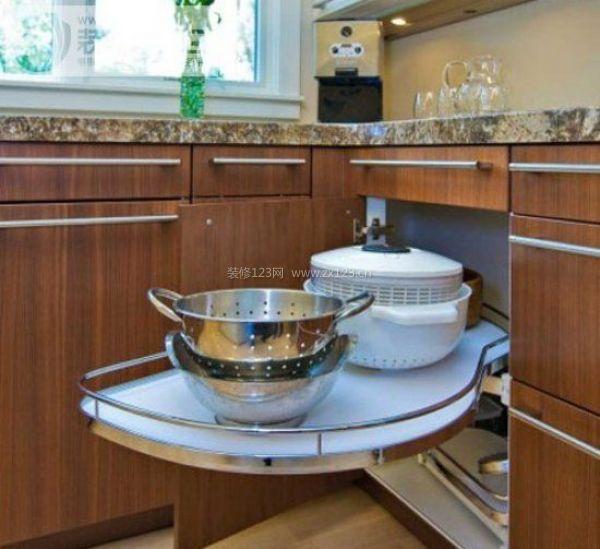居住型公寓 厨房收纳绝妙设计