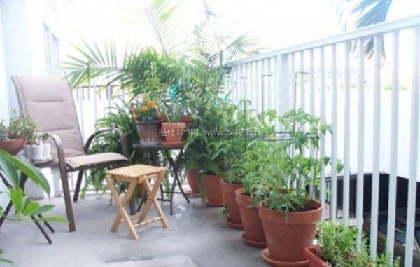 白领装修 10个小户型阳台花园改造