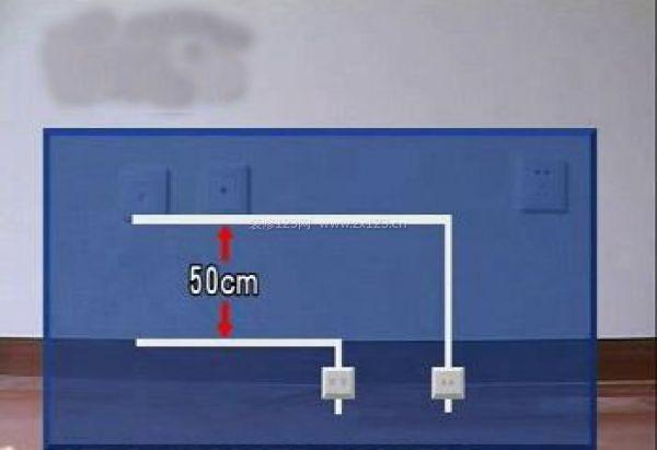 強弱電的間距