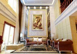 大客廳新古典家具擺放案例