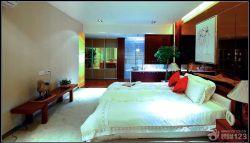 新中式風格主臥室設計圖