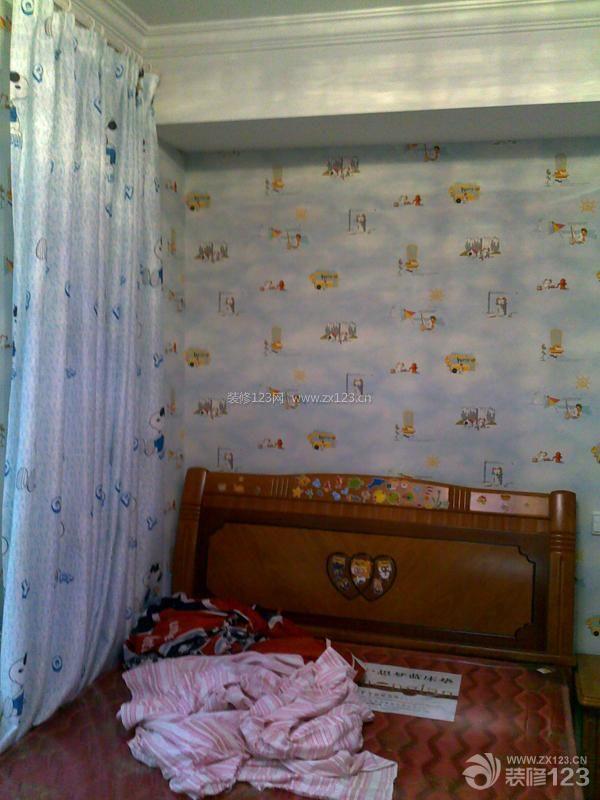 儿童房间设计装修效果图-最新移动隔断墙导轨平面图 图片收藏