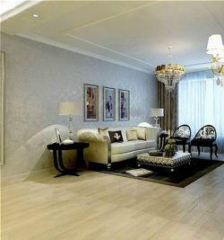 客廳歐式沙發樣板房圖片