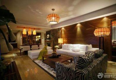 """东南亚风格客厅装修设计三要点,助你装出完美""""东南亚"""""""