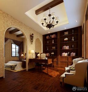 石膏板吊顶 室内吊顶 木质吊顶 吊顶设计 欧式吊灯 射灯 灯带 台灯