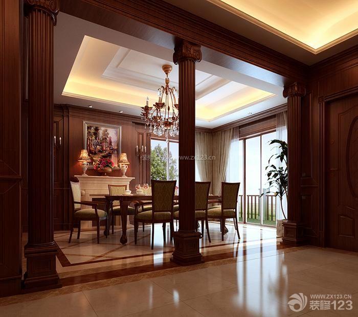三室两厅农村别墅楼中楼户型图 图片收藏