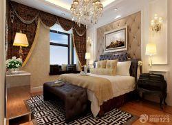 古典歐式風格主臥室設計圖
