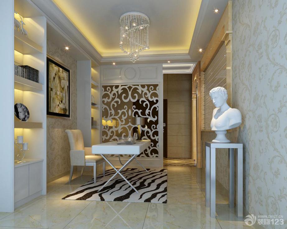 欧式风格家庭休闲区装修设计效果图