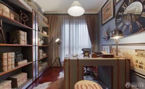 現代美式 書房裝飾 書房布置