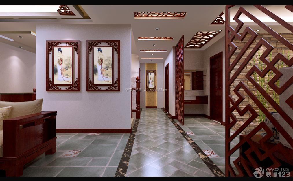 青岛市天泰城120平米三居中式风格
