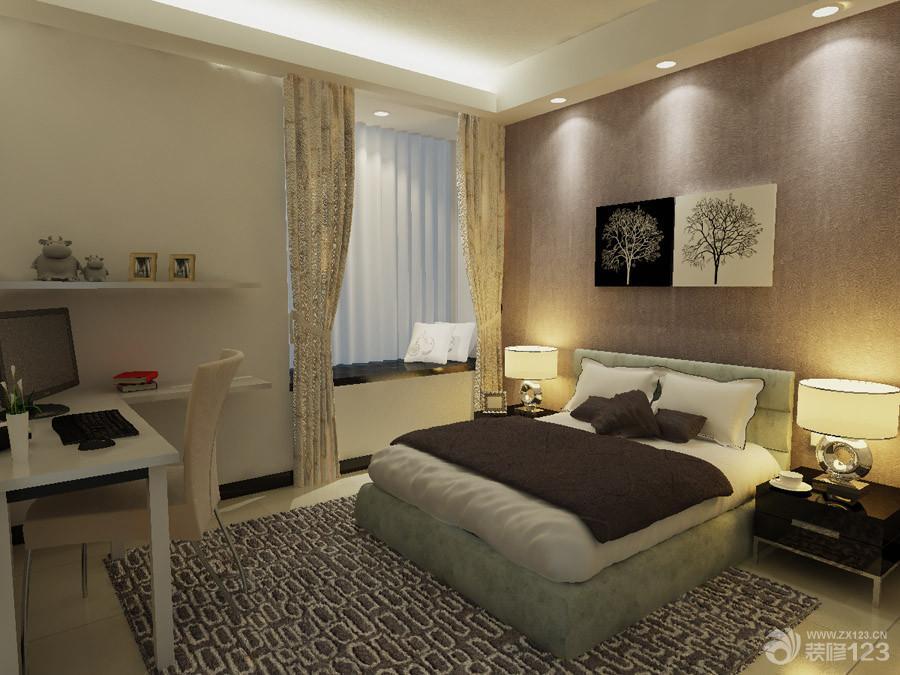 简约风格小户型卧室装修效果图