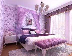 現代設計風格 90平米 兩室兩廳 臥室裝修顏色 主臥室