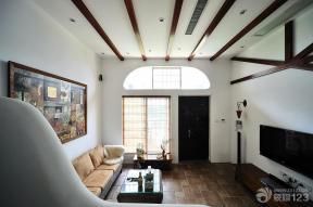 東南亞風格設計 客廳裝潢設計效果圖