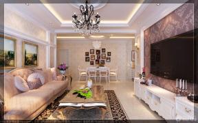 歐式客廳吊頂效果圖 2013家裝客廳效果圖