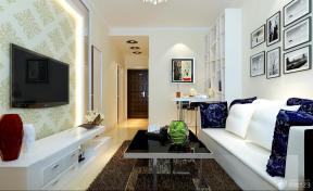 现代家居 40平米 一室一厅  客厅