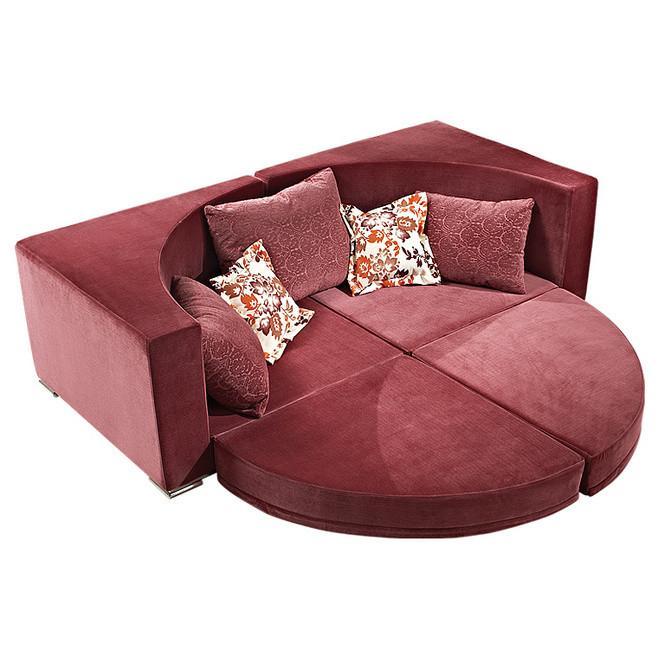 宜家风格小户型多功能沙发床效果图图片