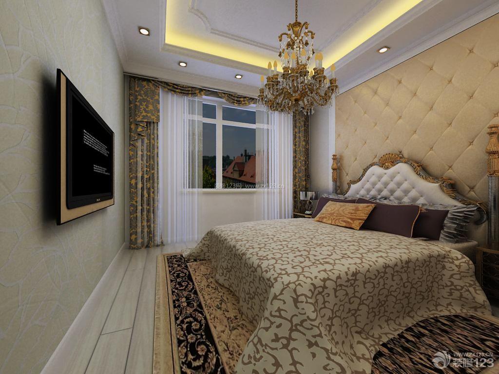 欧式家装设计主卧室装修效果图