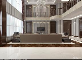 現代客廳 挑高客廳裝修效果圖 復式房