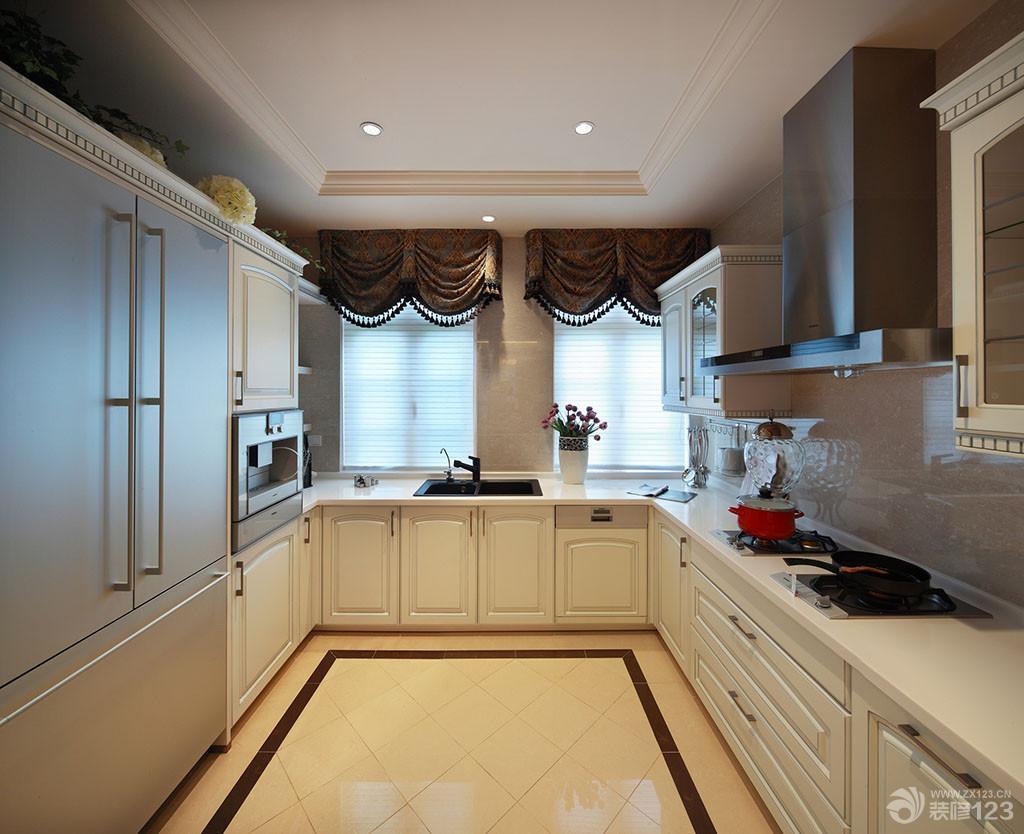 豪华欧式厨房装修效果图大全
