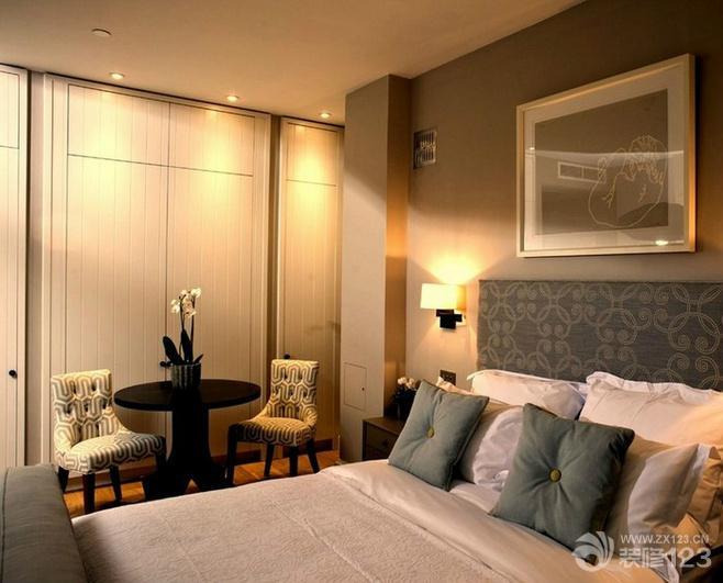 欧式混搭卧室壁橱装修效果图欣赏
