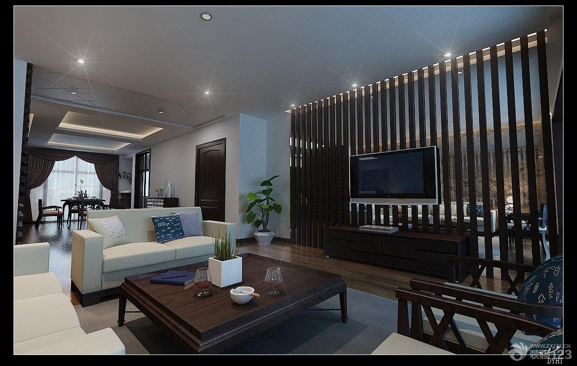 室内设计手绘图新中式分享展示