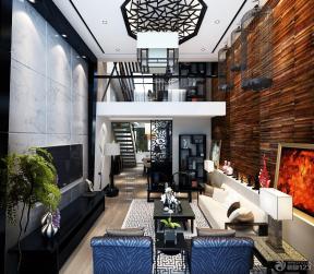 古典家居裝修效果圖 挑高客廳裝修效果圖