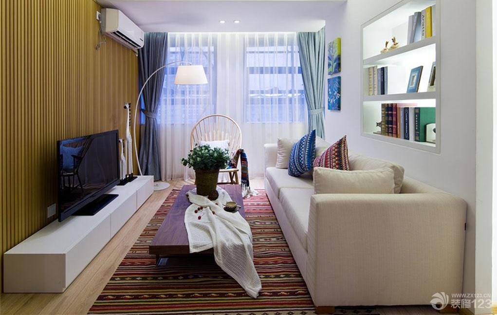 交换空间小户型客厅装修设计图片
