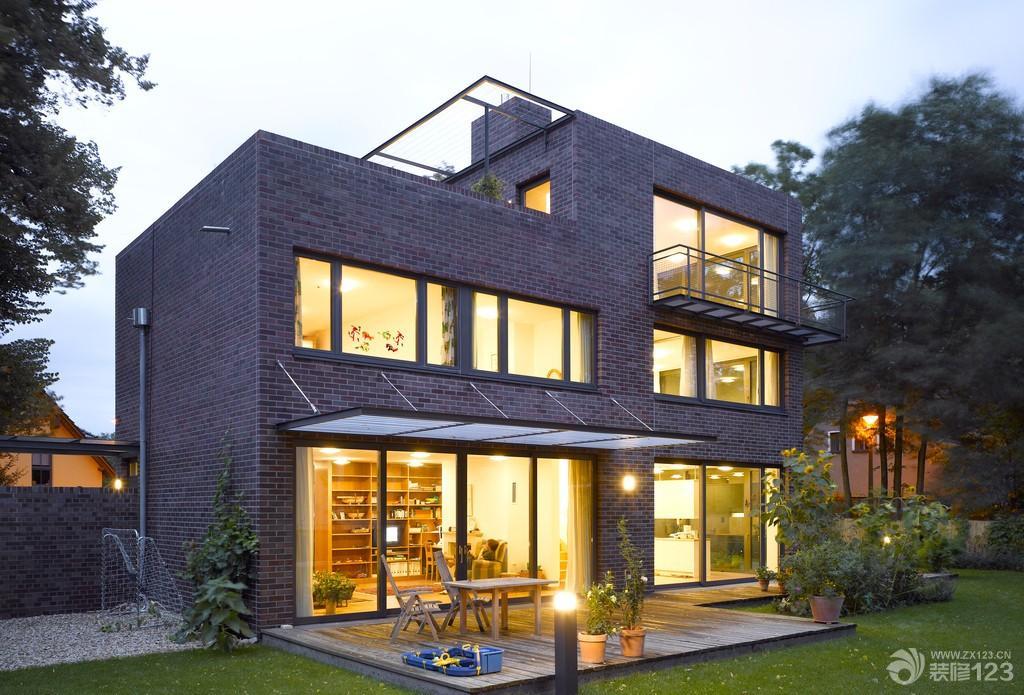 外观别墅斜顶设计