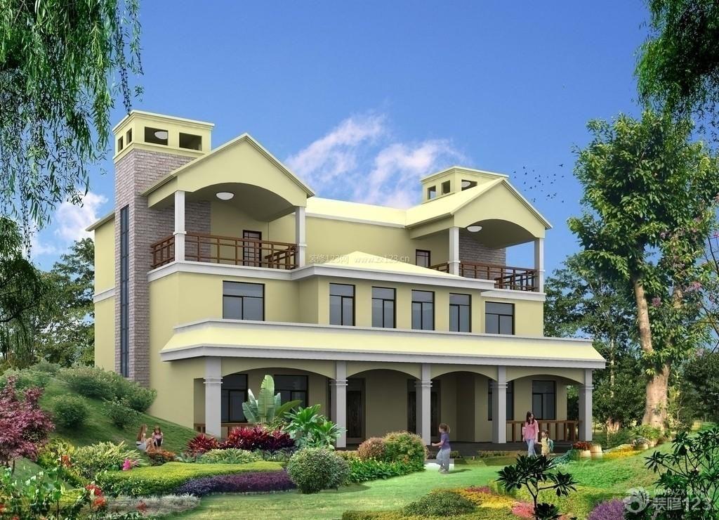 豪华别墅外观设计效果图