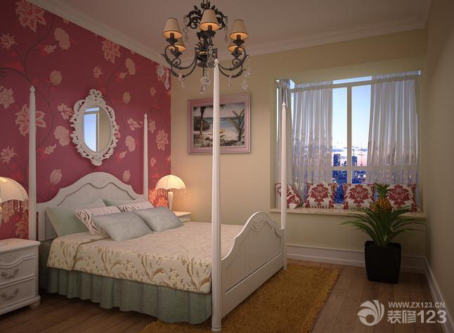 可爱温馨十平米小卧室装修效果图大全2014图片