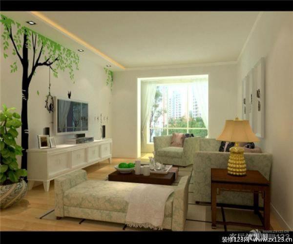 田园风格客厅装修图片 把自然的美带回家