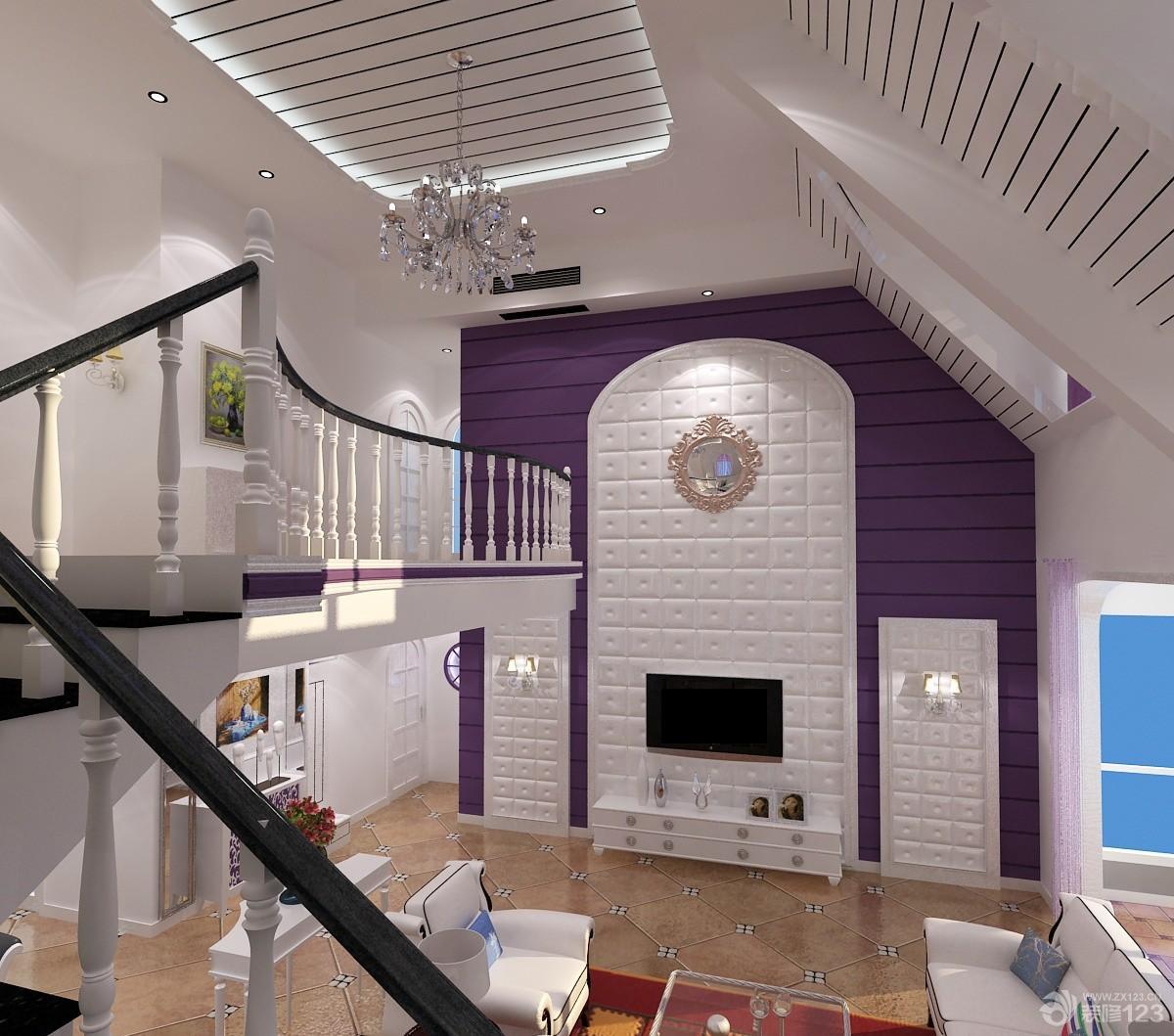 95平米小复式卧室装修设计效果图