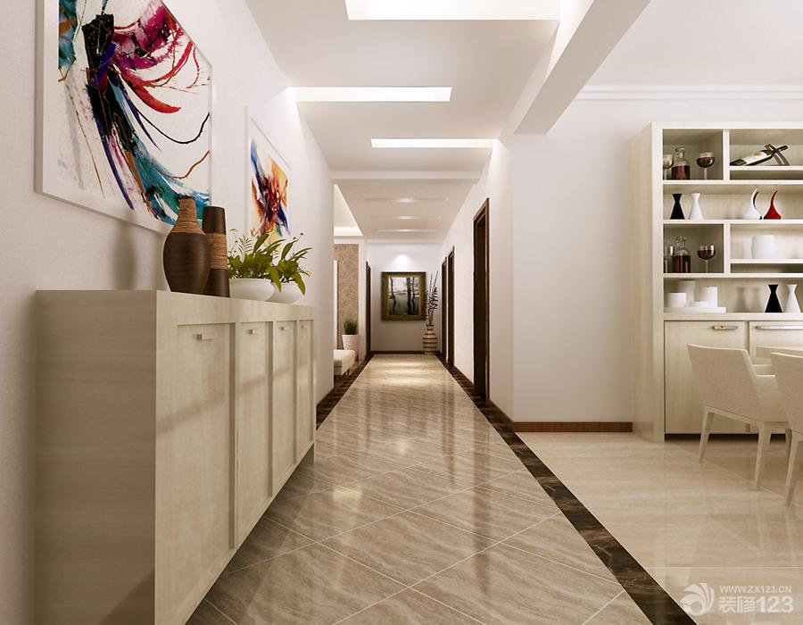 家装走廊地砖效果图-家装地砖拼花效果图,客厅过道地砖效果图,瓷砖图片