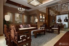 新中式風格 最新客廳裝修效果圖 中式沙發
