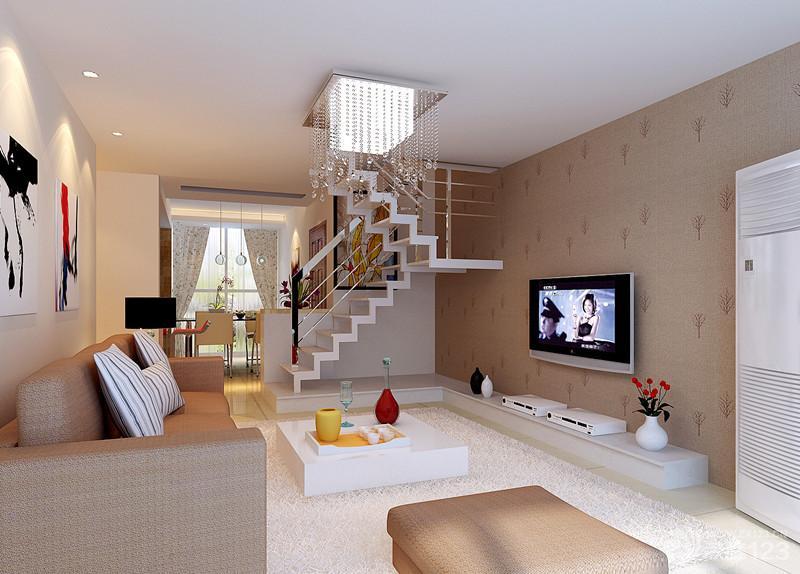 2014简约室内阁楼楼梯装修效果图欣赏