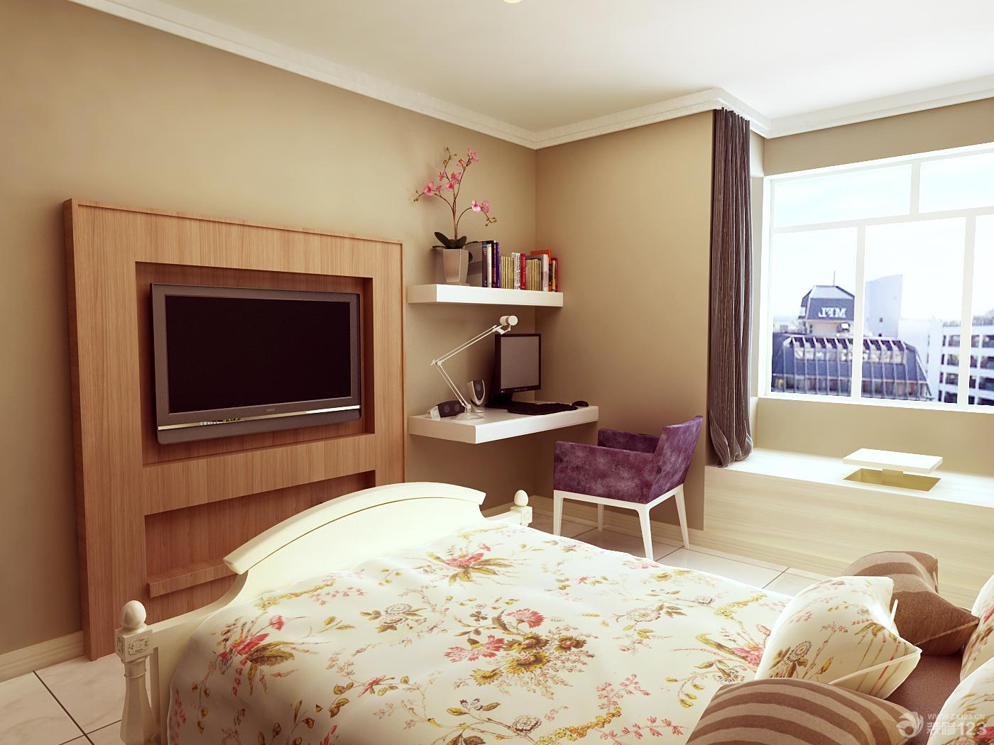 温馨小户型新房卧室装修设计效果图