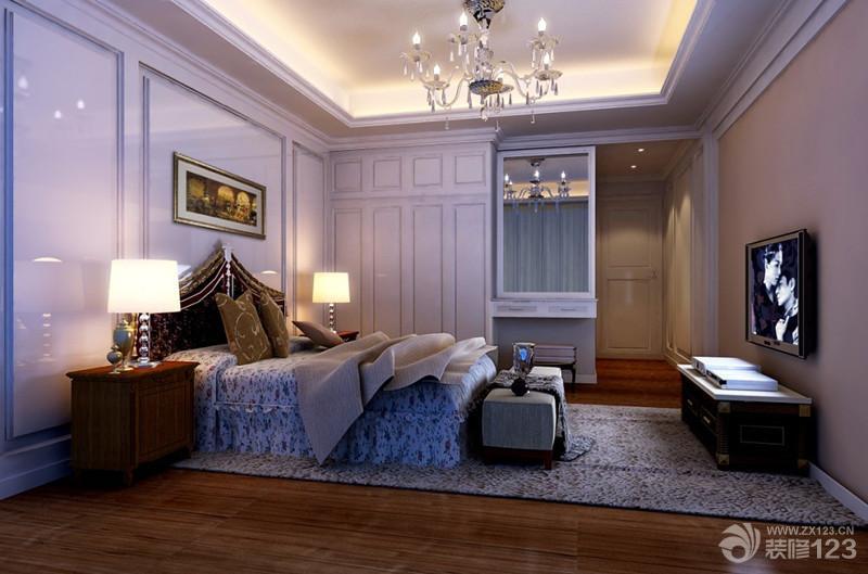 卧室壁橱现代欧式混搭风格装修图片