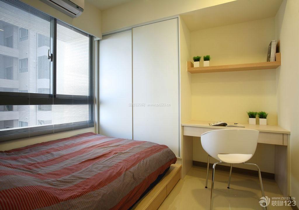 简约风格小户型公寓6平米小卧室装修图