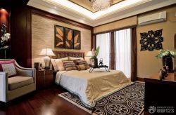 新房臥室床頭背景墻裝修效果圖