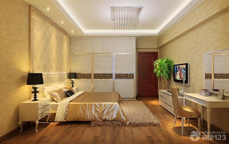 现代温馨跃层15平米卧室装饰图片