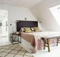 北歐風格裝修躍層臥室效果圖