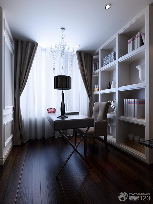 欧式7平米书房装修样板