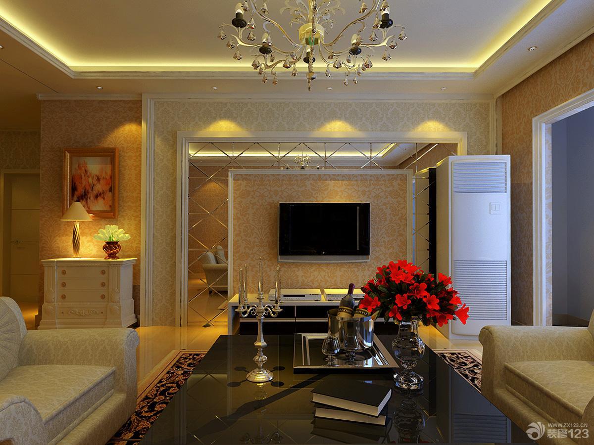 三室两厅两卫装修效果图 现代