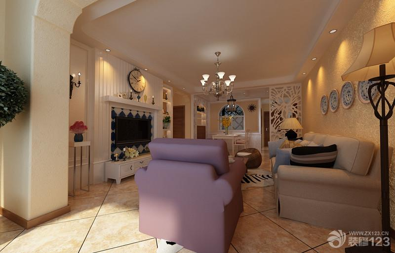 新房客厅拱形门洞装修效果图