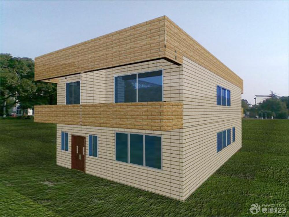 双层农村别墅 超实用的现代住宅!